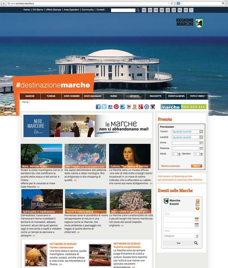 sito turismo marche