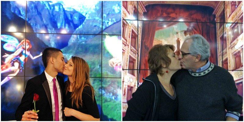Un bacio rubato! #romantichemarche alla BIT di Milano 2014.