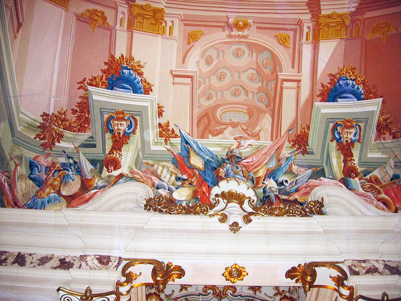 galleria degli Specchi, Castello di Lanciano