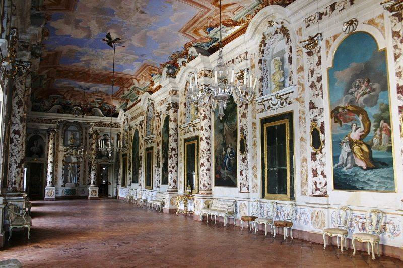 Sala Antinori Castello di Lanciano
