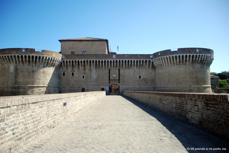 Rocca Roveresca di Senigallia - © Mi prendo e mi porto via
