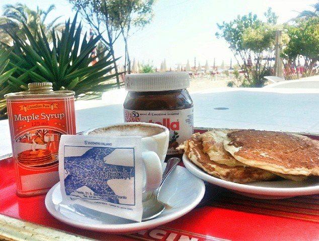 Una colazione a San Benedetto del Tronto.