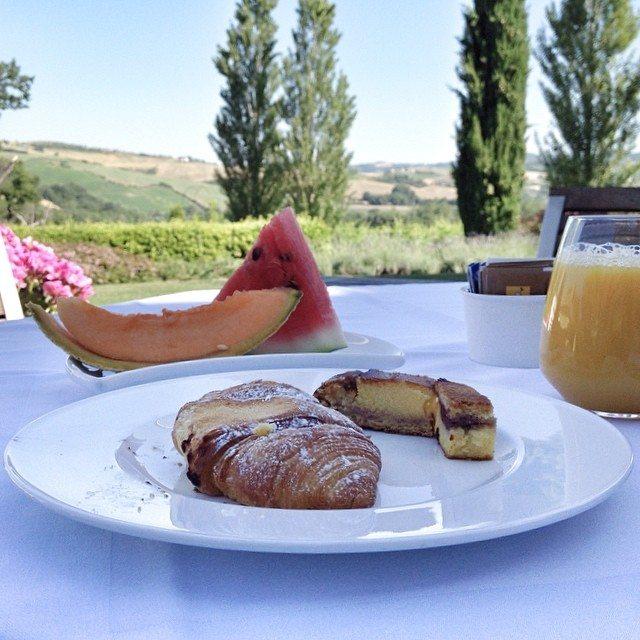 Colazione nel Montefeltro