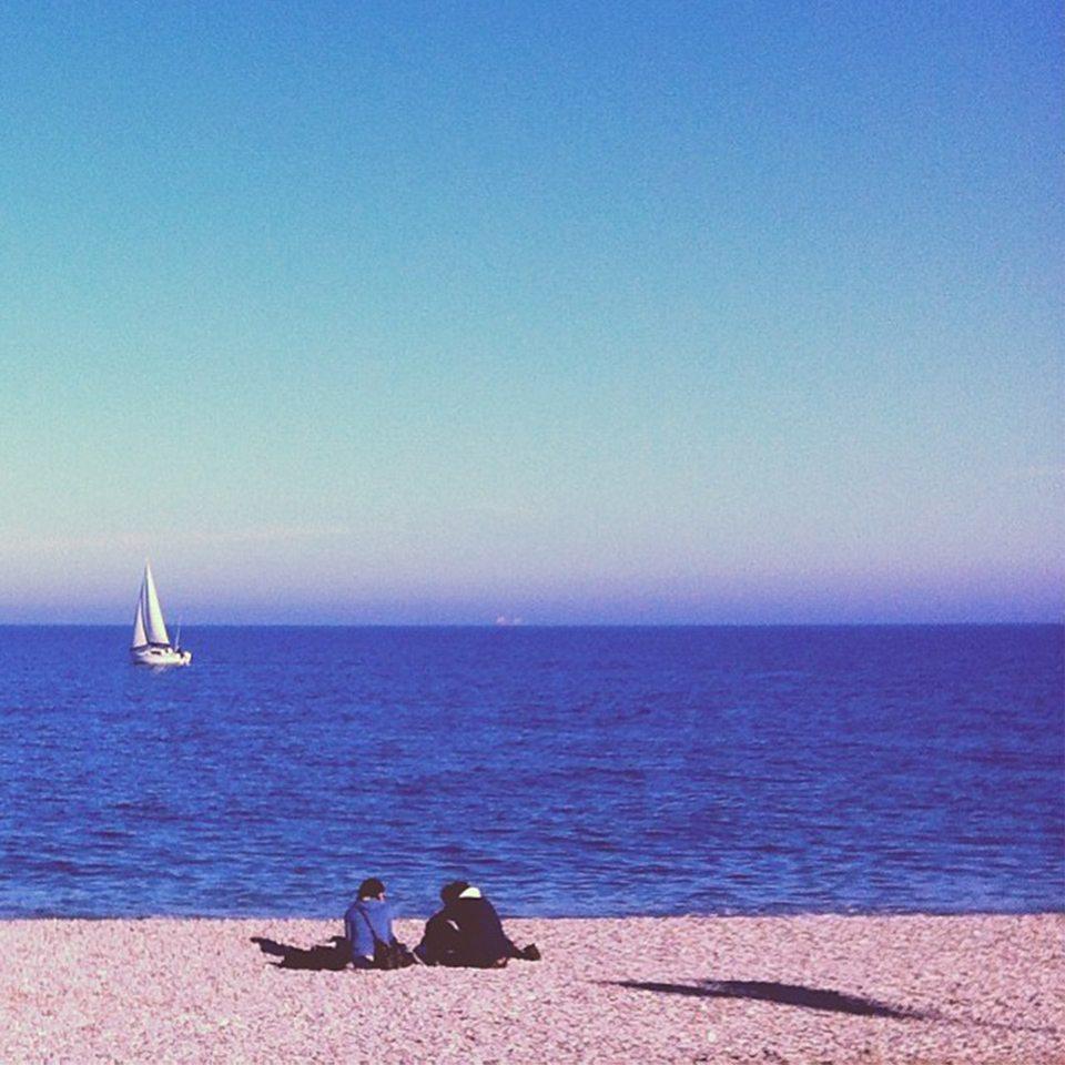 Una romantica giornata al mare, Fano (PU). Foto di ©kleewyck69