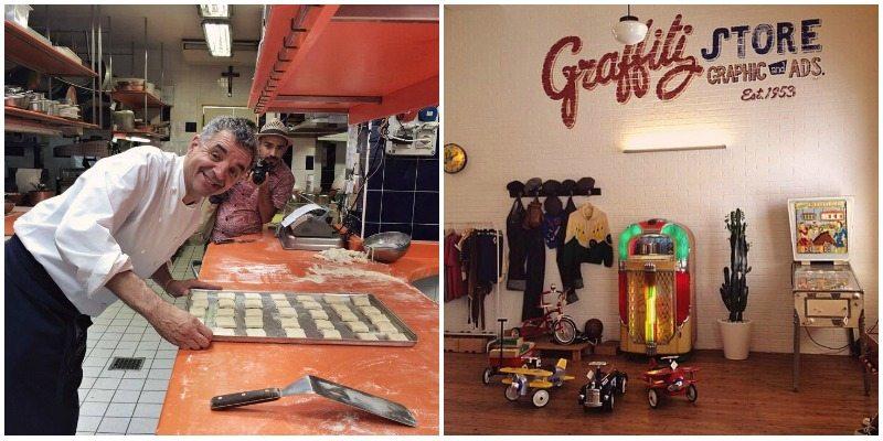 Un salto nel ristorante dello chef stellato Mauro Uliassi e un tuffo nel passato nel Graffiti Store dove è nato il Summer Jamboree.
