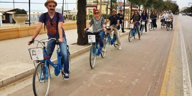 I blogger italiani esplorano la città in bici! #ilovesenigallia