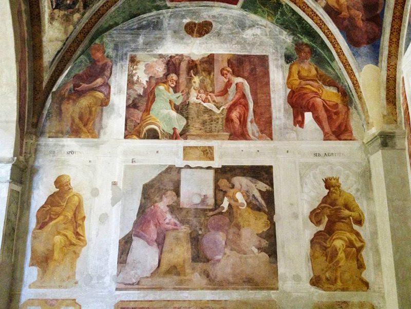 Affreschi Santa Maria in Pantano
