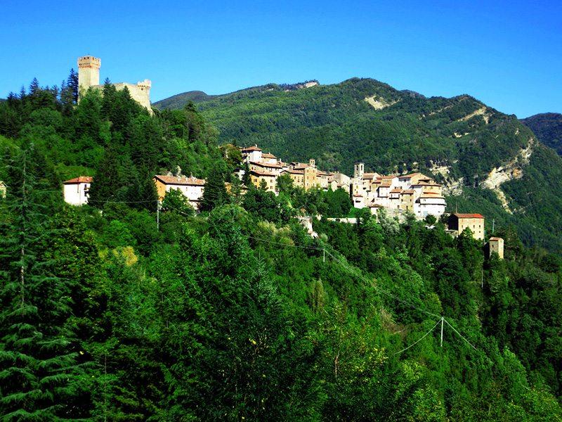 Arquata del Tronto, in provincia di Ascoli Piceno © Flickr Turismo Marche