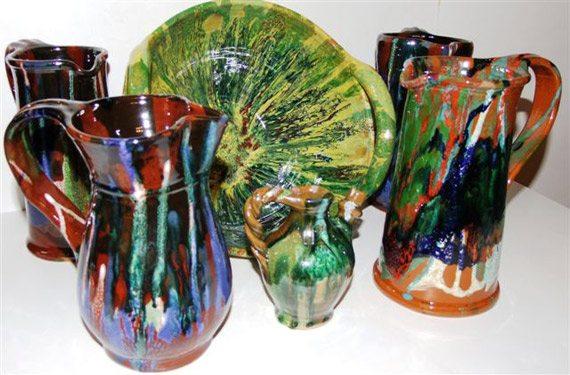 """Le ceramiche """"sghizzate"""" di Appignano"""