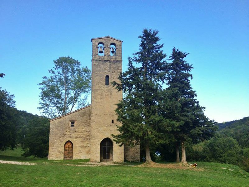La Chiesa di San Giorgio all'Isola a Montemonaco