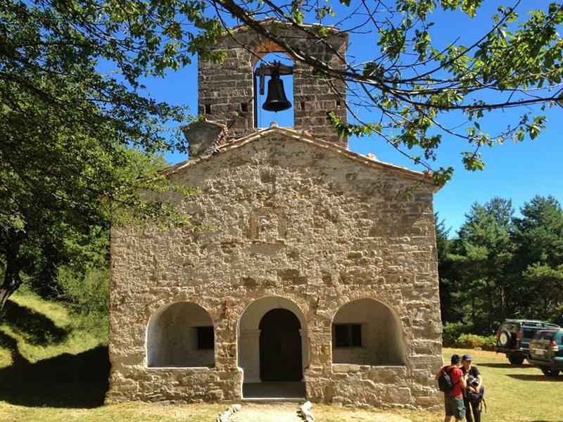 La Chiesa di Santa Maria in Pantano sui Sibillini