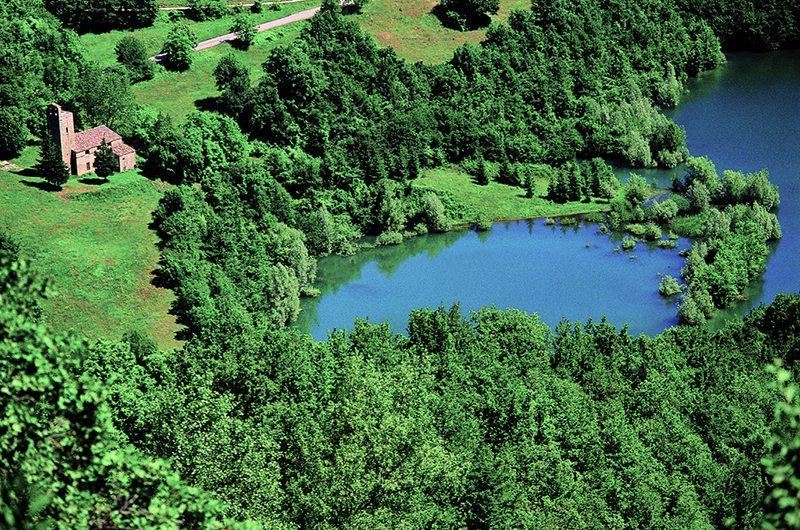 Il Lago di Gerosa a Montemonaco