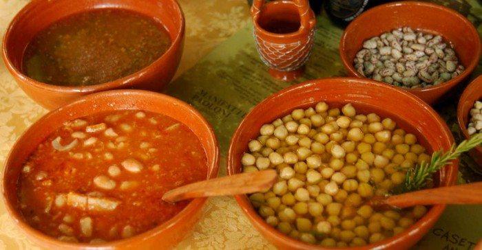 I legumi preparati con ricette antiche che seguono la tradizione marchigiana e contadina
