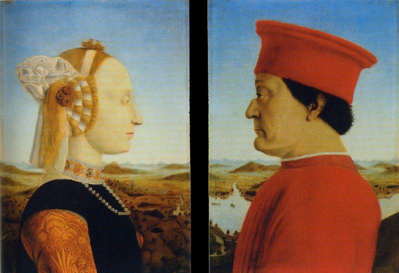 Dittico dei Duchi di Urbino di Piero della Francesca