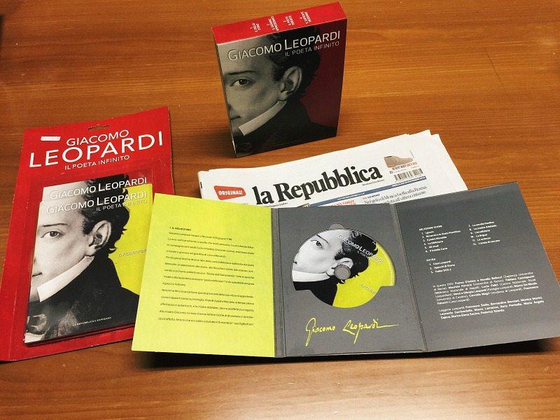 """""""Giacomo Leopardi, il Poeta Infinito"""" i dvd in edicola con la Repubblica e l'Espresso"""