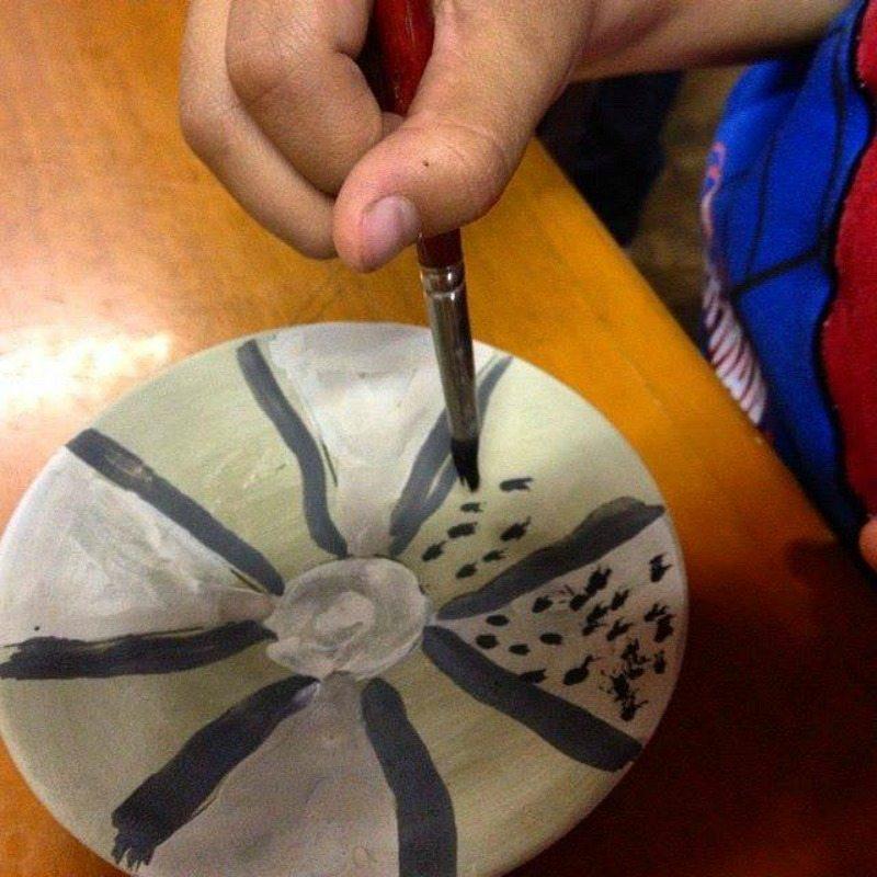 Laboratorio di ceramica #sibilliniforkids © Crinviaggio