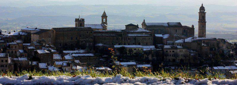 Veduta di Morrovalle (MC) © Armando Valeriani