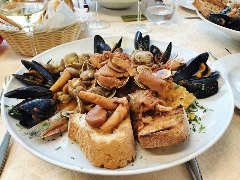Il brodetto di pesce di Porto Recanati