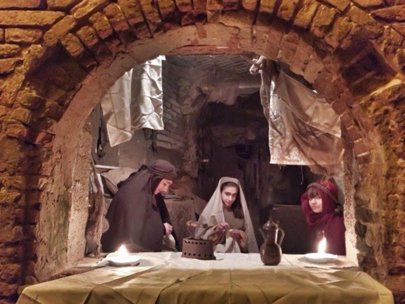 Gli antichi mestieri in scena nel presepe vivente di Grottammare (AP)