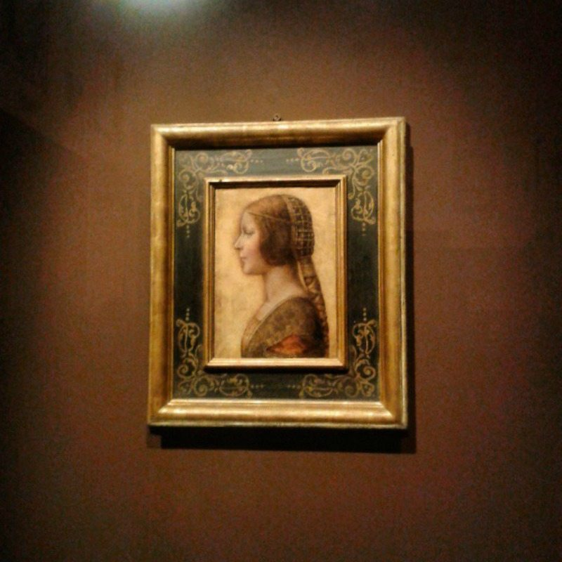 La Bella Principessa, opera attribuita a Leonardo Da Vinci