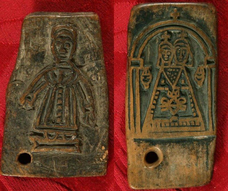 Madonna di Loreto, sec.XVI e San Francesco con le stimmate, sec XVI. Museo Antico Tesoro della Santa Casa di Loreto
