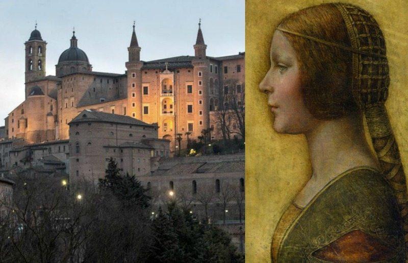 La Bella Principessa di Leonardo da Vinci in mostra ad Urbino