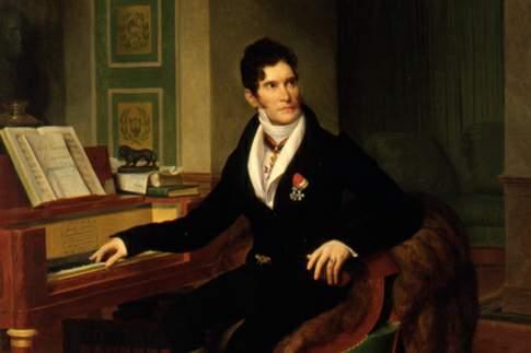 Il celebre compositore Gaspare Spontini (1774-1851)