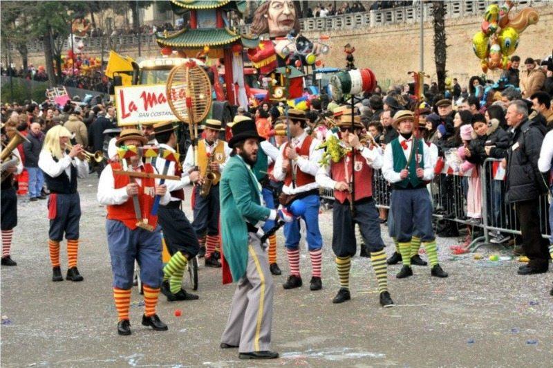 Sfilata di Carnevale a Macerata