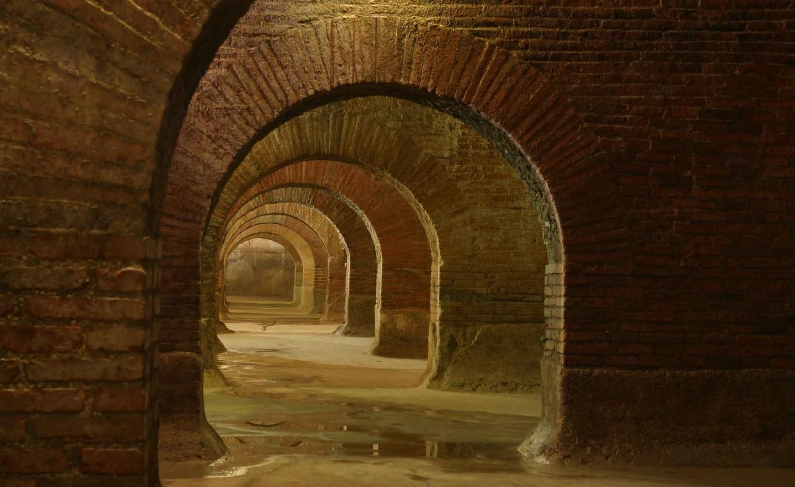 Le cisterne romane di Fermo © Sistema Museale Marca Fermana