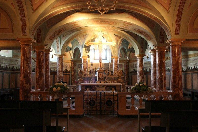 La cripta del Duomo di Fermo © Marca Fermana