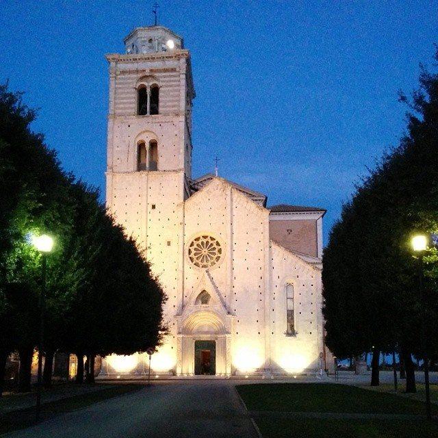 La facciata del Duomo di Fermo © Silvia Bombardieri su Instagram