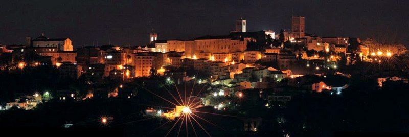 Veduta della città di Osimo © Nicolò Bonazzi