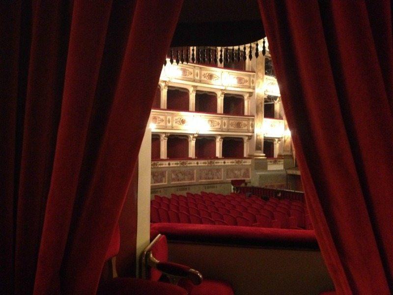 L'interno del Teatro dell'Aquila di Fermo © MarcheTourism su Flickr