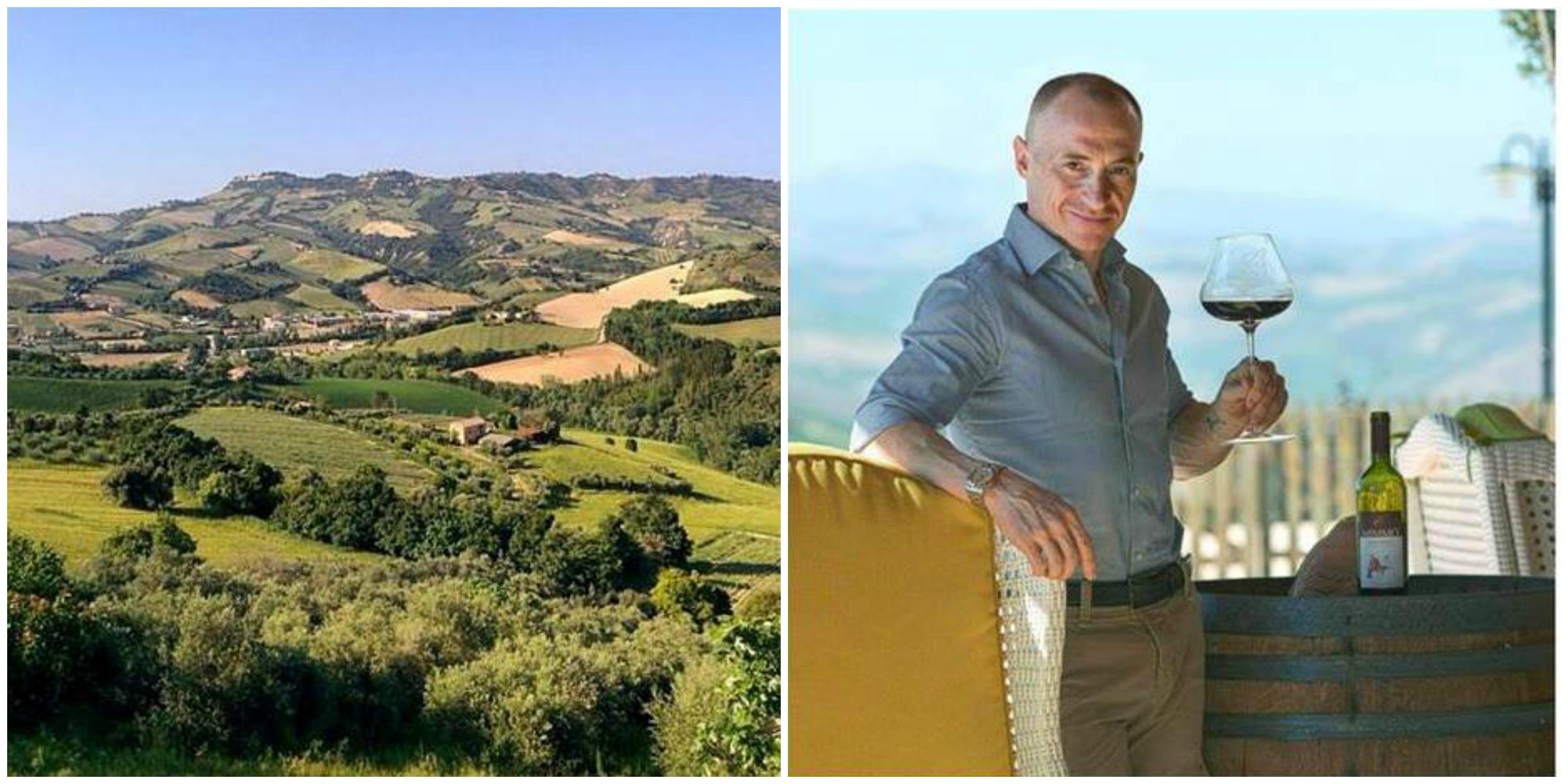 Yuri Chechi, campione olimpico testimonia la sua esperienza di imprenditore agricolo nelle Marche