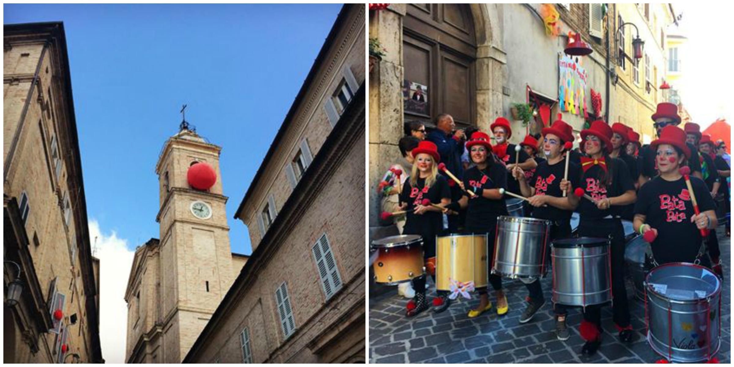 Clown & Clown Festival di Monte San Giusto, la Città del Sorriso