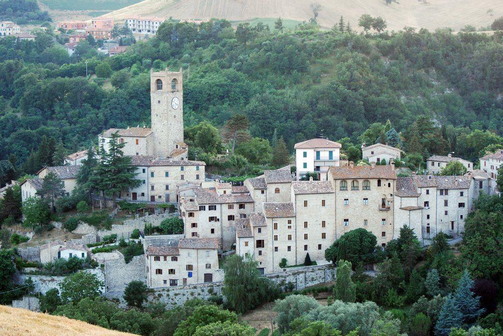Il borgo di Macerata Feltria © Giuliano Mangani su Panoramio