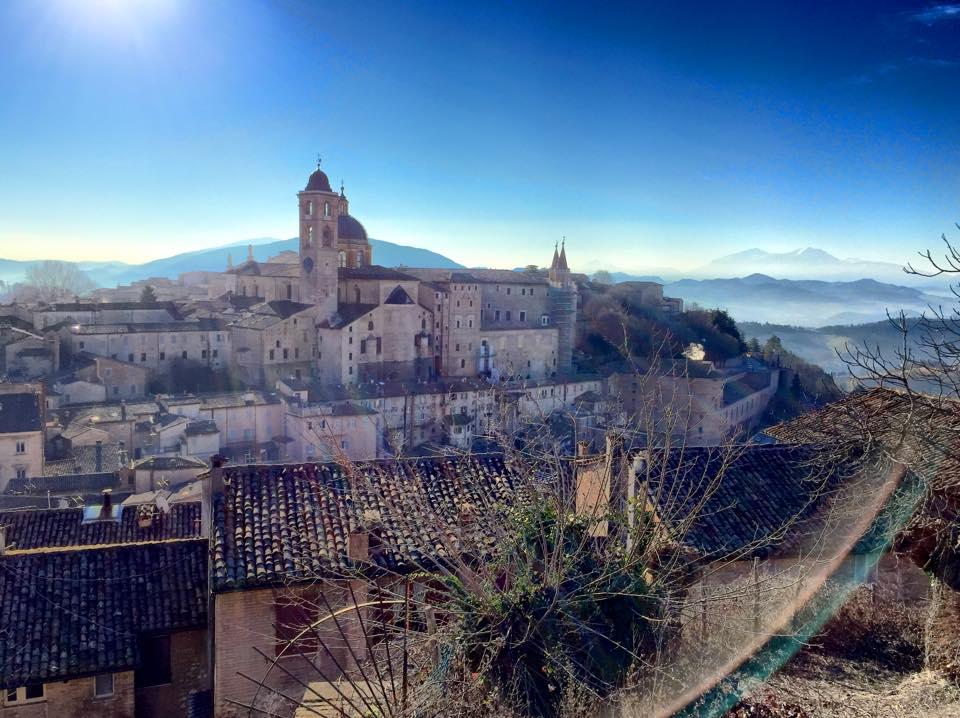 Veduta della città ducale di Urbino © Paolo Mini