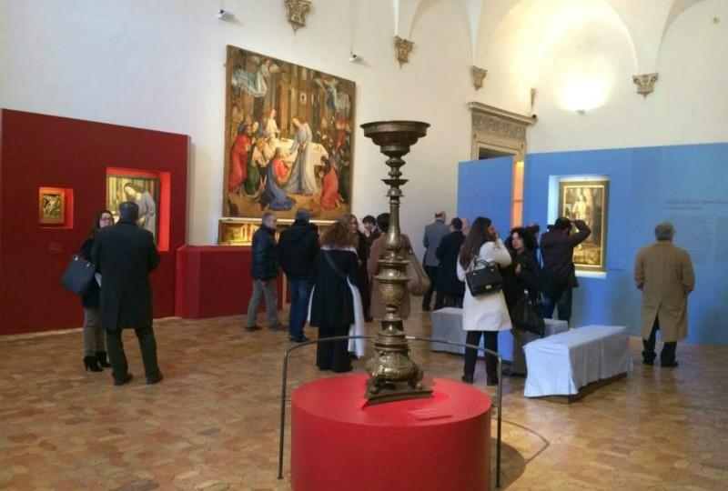 """""""Lo Studiolo del Duca – Il ritorno degli Uomini Illustri alla Corte di Urbino"""" Palazzo ducale"""