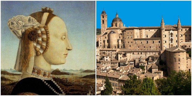 Battista Sforza e la città ducale di Urbino