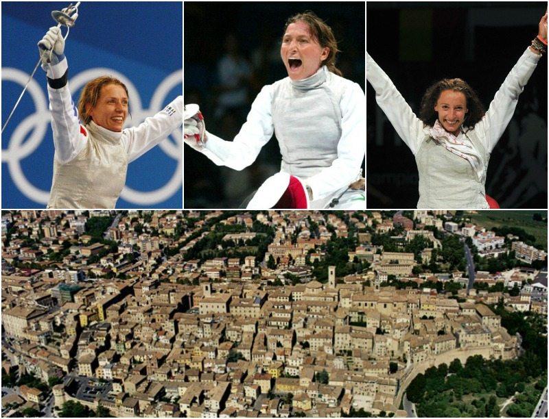 Le grandi atlete della scherma e la loro città, Jesi (AN)
