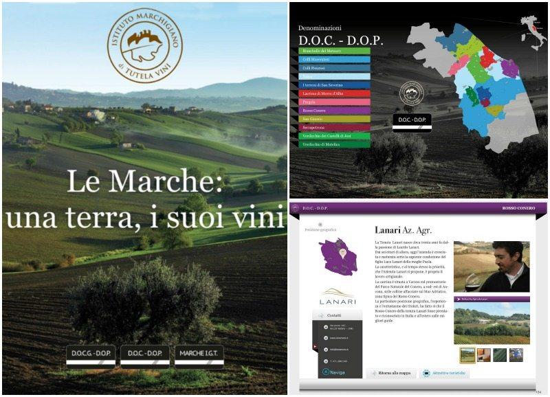"""La guida interattiva """"Le Marche: una terra, i suoi vini"""" dell'Istituto Marchigiano Tutela Vini"""