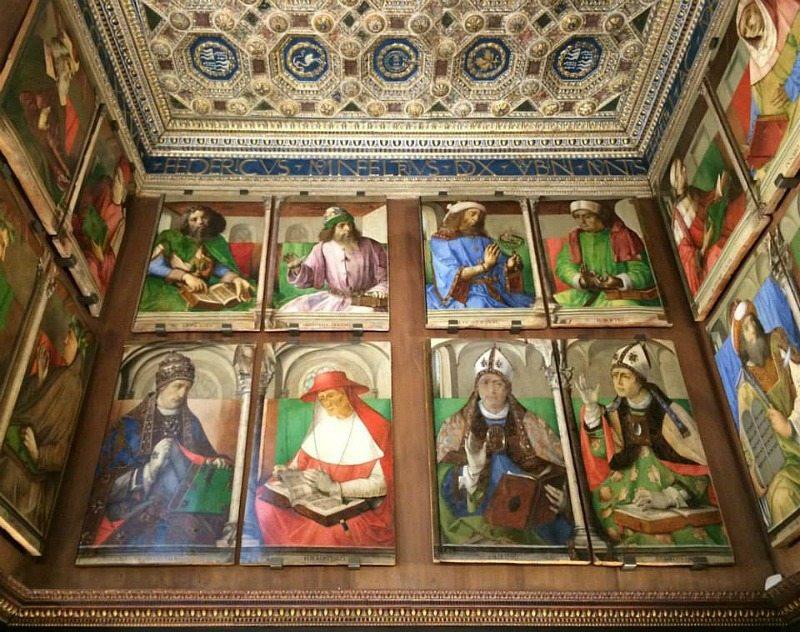 Lo Studiolo del Duca a Palazzo Ducale - Urbino