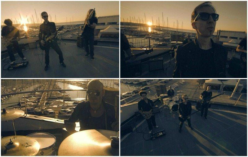 Alcuni frame del video Hearth Undone degli Electric Violet