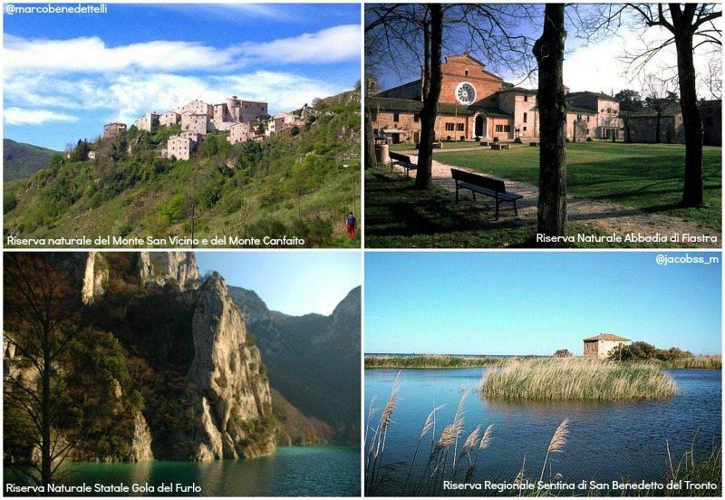 Parchi e natura attiva nelle Marche: Aree protette
