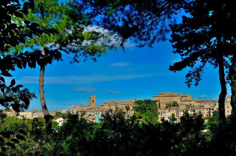 Panorama di Recanati, Marche © Adriana Pierini