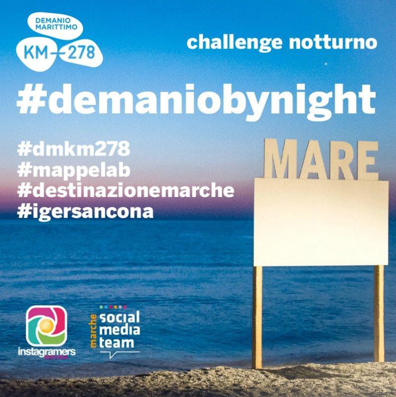 #demaniobynight il challenge dal tramonto all'alba