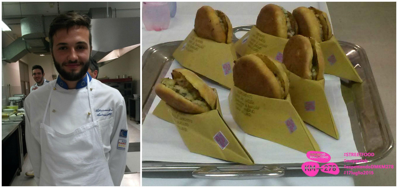 Alessandro Antonelli vincitore del concorso street food di Demanio Marittimo.Km-278 © Mappelab