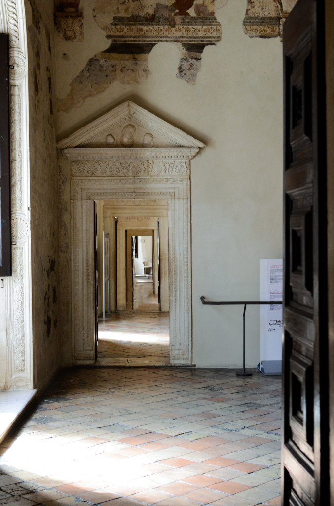 into the museum palazzo ducale urbino