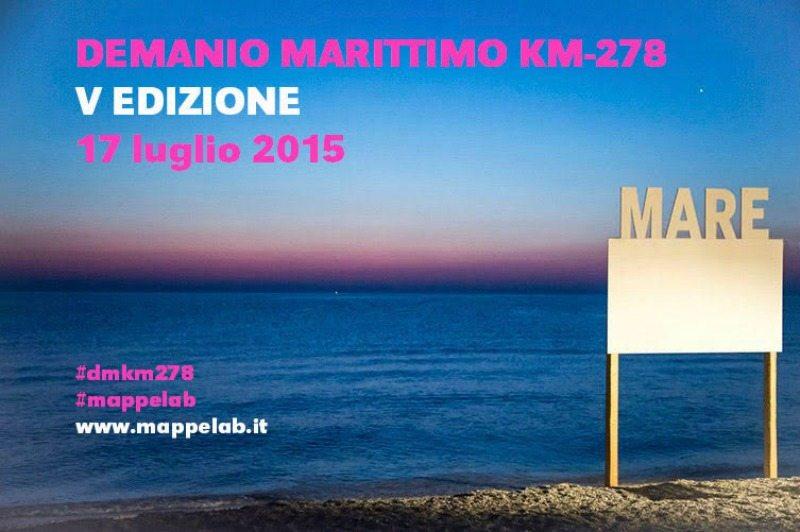 Demanio Marittimo.Km-278, 17 luglio 2015 Marzocca di Senigallia (AN)