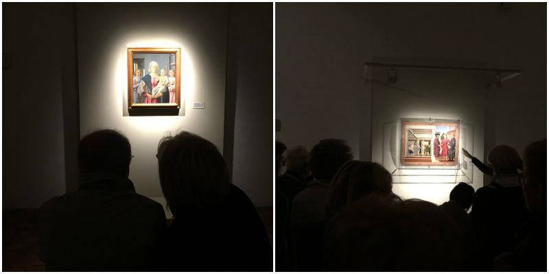 Le opere di Piero della Francesca conservate alla Galleria Nazionale delle Marche di Urbino